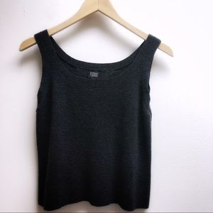 Eileen Fisher Small Black Sweater tank